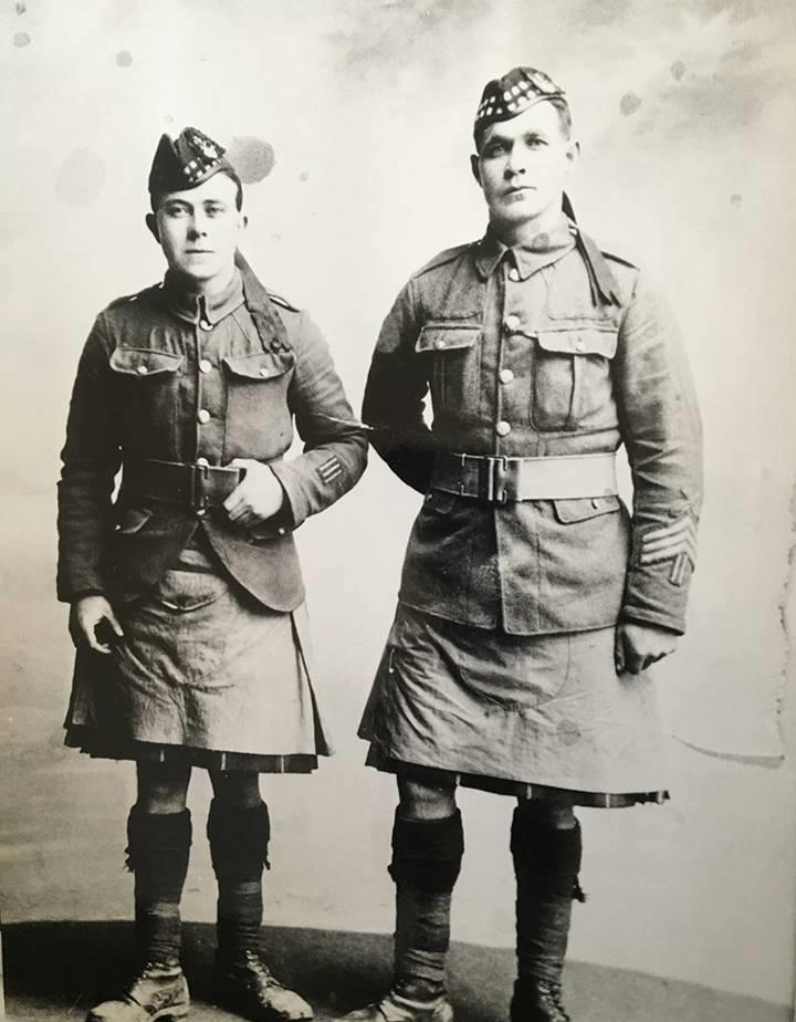 Britské uniformy Velké války, část 1