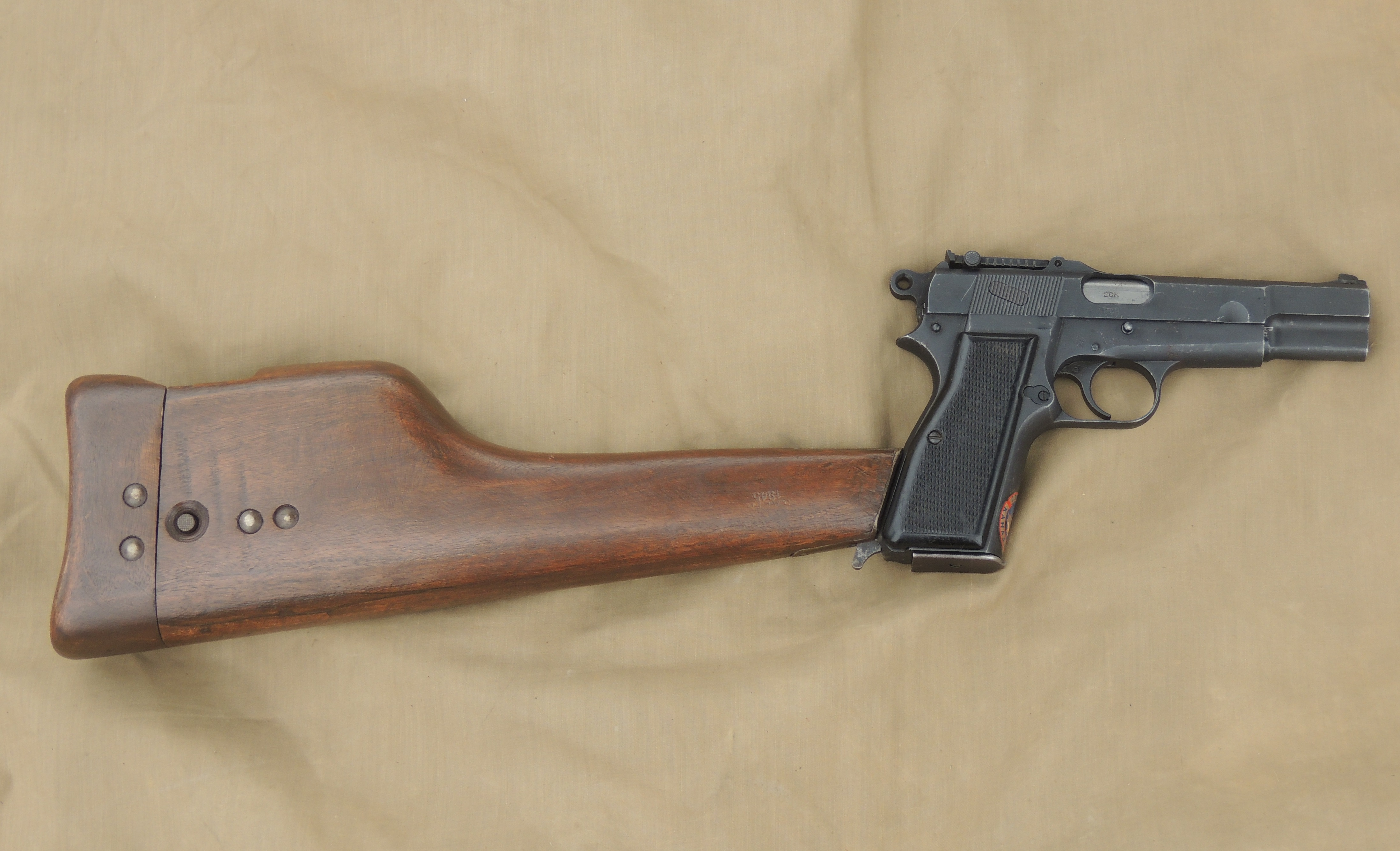 Inglis Browning Hi-Power No.1